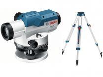 """Nivelační optický přístroj Bosch GOL 32 D Professional - 120m, 5/8"""", 1.5kg, stativ (0601068502)"""
