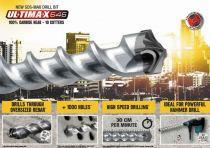 Vrták do kladiv SDS-Max DIAGER Ultimax 646, 18 x 400 / 540 mm