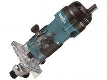 Jednoruční horní frézka Makita 3711 - 530W, 6mm, 1.5kg