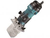Jednoruční horní frézka Makita 3712 - 530W, 6mm, 1.7kg