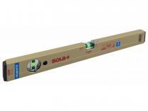 Magnetická profilová vodováha Sola AZM 50 - 50cm, hliník, zlaté provedení (01820701)