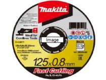 12x Řezný kotouč na nerez Makita E-10861-12 - 115x0.8x22.23mm