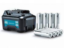Adaptér pro použití 8 baterií typu AA pro křížové lasery řady Makita CXT (Makita CP00000001)