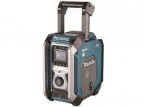 Aku stavební rádio Makita MR007GZ - 12-40V, DAB, Bluetooth, 5.4kg, bez akumulátoru a nabíječky