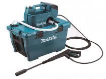Bezuhlíkový aku vysokotlaký čistič Makita DHW080ZK - 2x18V, 55bar, 330l/hod, 6.3kg, bez akumulátoru a nabíječky