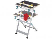 Pracovní stůl Wolfcraft MASTER 600 - 420-530x770-1030mm, nosnost 150 kg (6182000)
