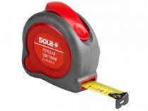 Svinovací metr Sola Popular PP 8 - 25mm, 8m, nerozbitné dvoudílné plastové pouzdro (50024401)