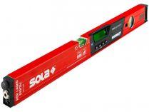Laserová vodováha Sola RED 60 - 2x AAA, 60cm, Bluetooth, hliník, červené provedení (71051001)