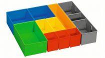 Boxy k uložení malých dílů Bosch i-BOXX 72 inset box set 10 pcs Professional