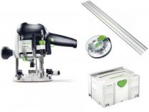 Horní frézka Festool OF 1010 EBQ-Set + Box-OF-S 8/10x HW - 1010W, 8/55mm, 2.7kg