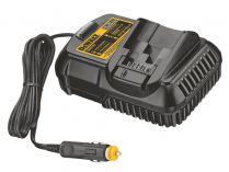 Nabíječka DeWALT DCB119 pro baterie typu XR Li-Ion 10,8V, 14,4V a 18V + auto zapalovač cigaret 12V