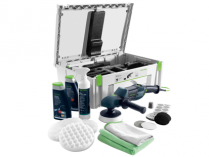Úhlová leštička Festool RAP 150 FE-Set Automotive - 150mm, 1200W, regulace, 2.1kg