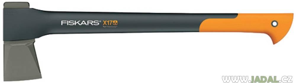 Sekera Fiskars X17 štípací, plastové pouzdro