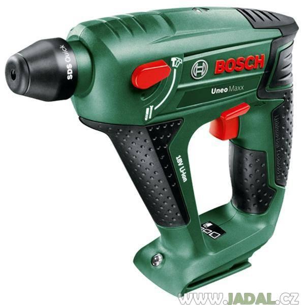 Bosch Uneo Maxx - varianta bez akumulátoru, pneumatické kladivo