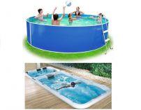 Bazény a vířivé bazény s protiproudem Swim spa