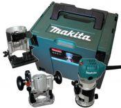 Makita RT0700CX2J - 710W, 6/8mm, 1.8kg, multifunkční frézka + kufr Systainer Makpac