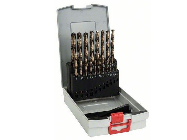 19-dílná sada vrtáků HSS-Co, DIN 338 do kovu Bosch ProBox (2 608 587 014)