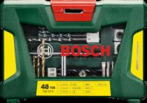 Bosch 48dílná sada vrtáků a bitů s magnetickou tyčí