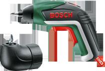 Bosch IXO V + úhlový nástavec, aku šroubovák 3.6V/1.5Ah