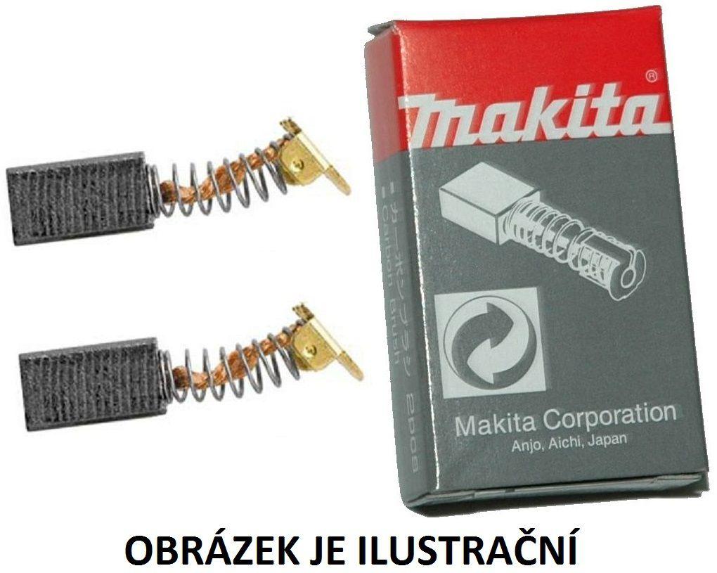 Uhlíky - Uhlíkové kartáče Makita CB-174 (196018-8) do kotoučové pily Makita HS7101/K/J