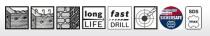Bosch Speed X čtyřbřitý vrták do kladiv SDS-Max-7, 38 x 400 / 520 mm (2 608 586 800) Bosch příslušenství