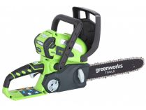 Zobrazit detail - Greenworks GWCS 4030 - 300mm, 40V, 2.89kg, bez aku, aku řetězová pila