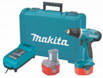 Makita 6281DWAE - 2x 14,4V/2Ah, aku vrtačka bez příklepu