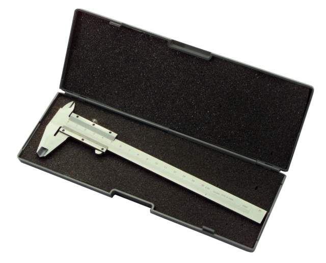 Posuvné měřítko nerez Workers Best 150mm + plastový kufřík (Šuplera POME150)
