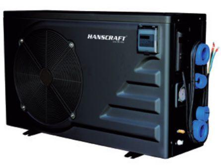 Tepelné čerpadlo do bazénů HANSCRAFT HITACHI EVOLUTION 120 - 21kW pro bazény 75-120m³ (301043)