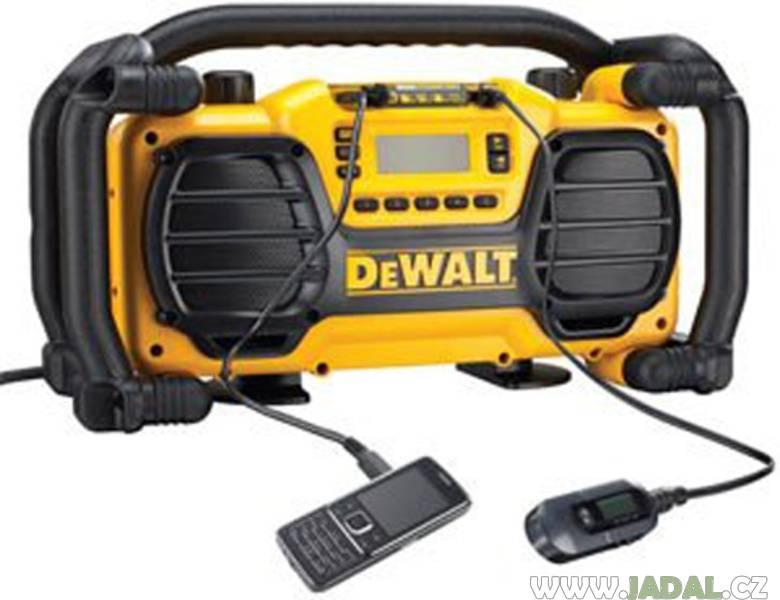 DeWALT DC013 rádio s nabíječkou