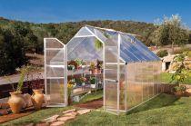 Palram Essence 8x12 silver - polykarbonátový skleník 366x242,5x231cm