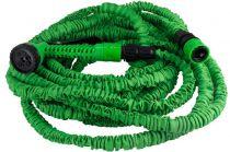 Zahradní smršťovací - flexibilní hadice 7,5 - 22,5m se stříkací pistolí