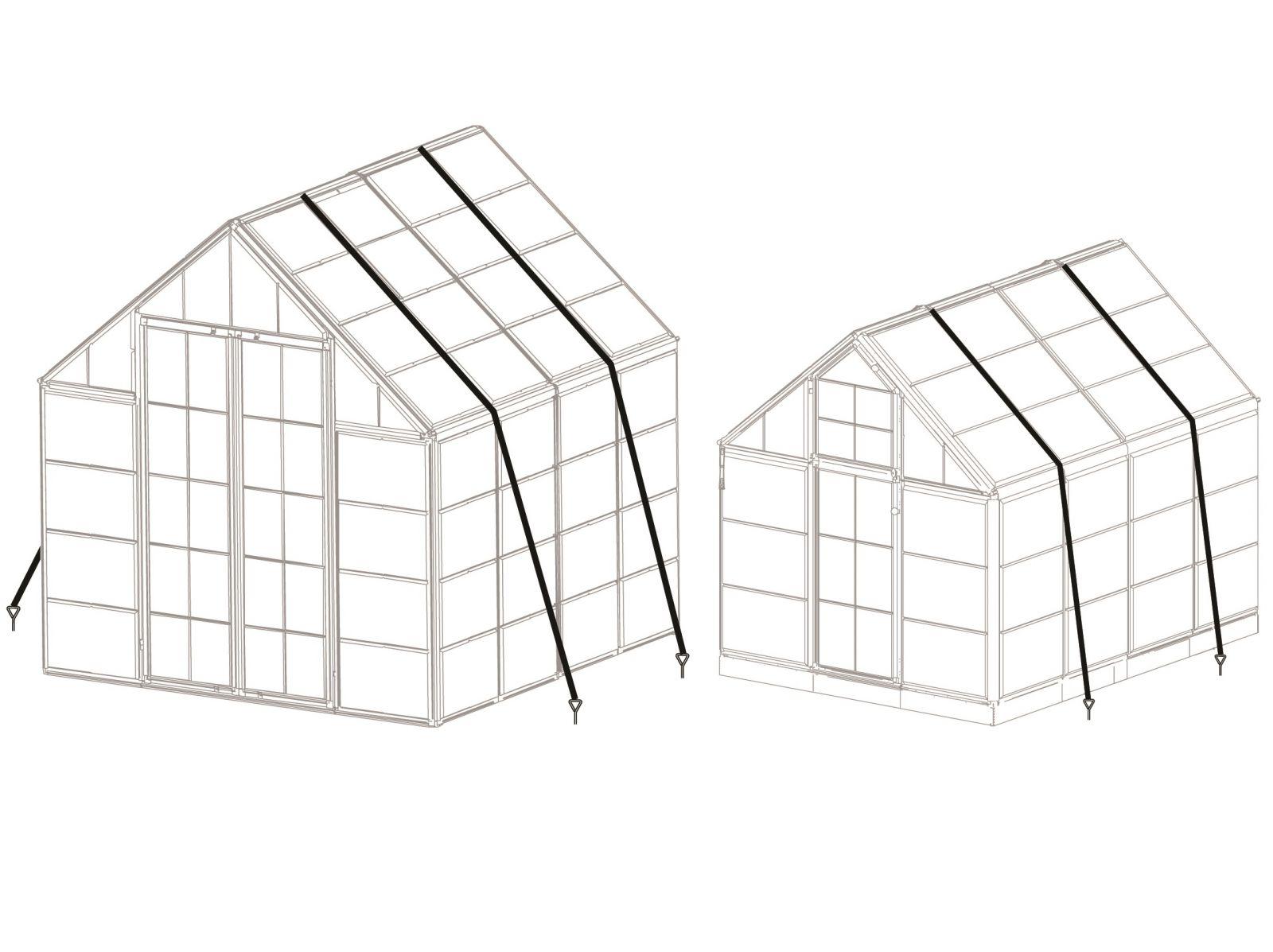 Kotvící systém pro skleníky Palram, kód: 702771