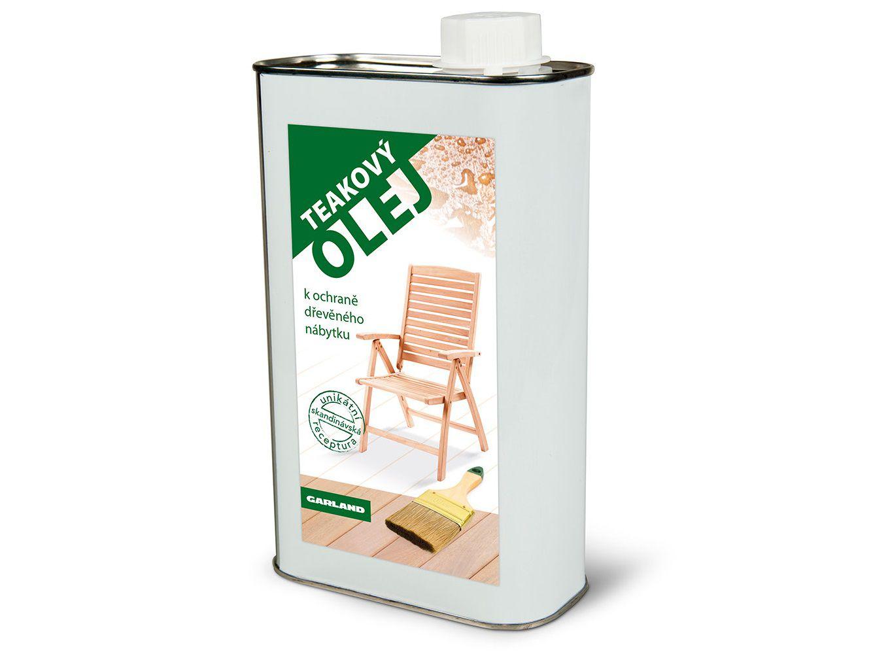 Teakový olej 1l Garland, kód: RACC00007