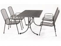 Garland zahradní sestava (4x židle Savoy Basic, 1x stůl Universal) -  Bani 4+