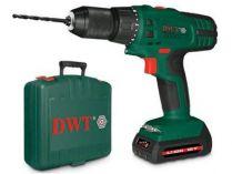 DWT ABS-18 TLi-2 BMC - 2x 18V/1.5Ah Li-Ion aku vrtačka bez příklepu