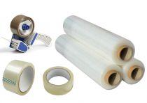 Obalové materiály, pásky, fólie, příslušenství