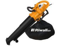Vysavač/foukač s elektrickým motorem Riwall REBV 3000 - 3000W, 270km/h, 5.15kg