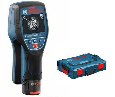 BOSCH D-Tect 120 + L-Boxx 136+ aku 10,8 V univerzální detektor