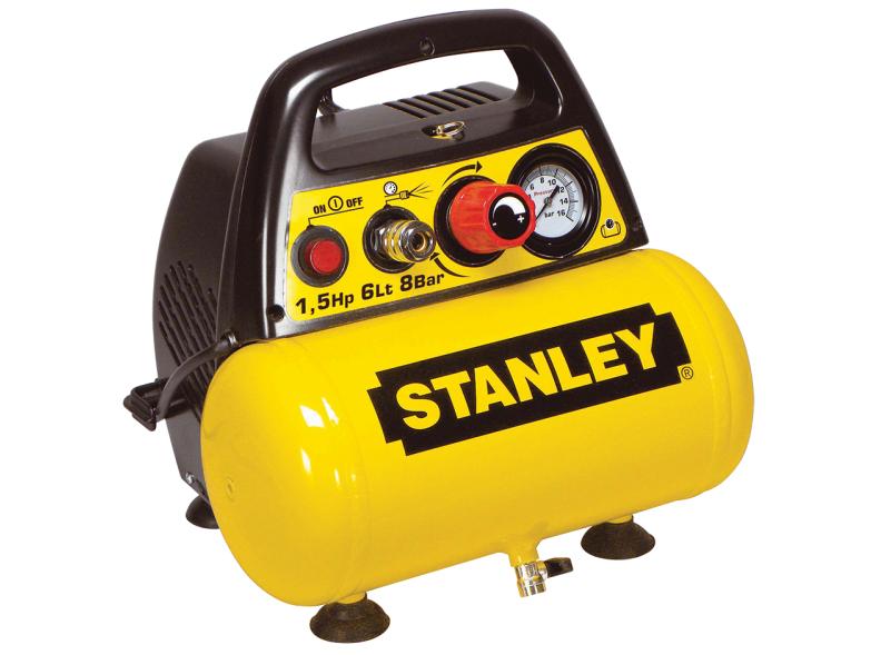 Bezolejový kompresor STANLEY DN 200/8/6 KIT - 8 bar, 180 l/min (DN200_8_6 KIT)