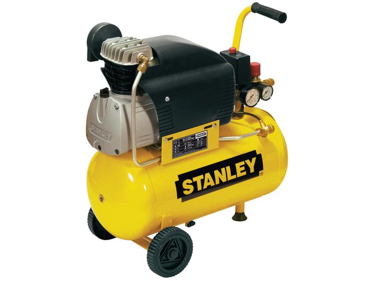 Olejový přímo řízený kompresor STANLEY D 210/8/24 - 8 bar, 222 l/min, 24 l, kód: D210_8_24