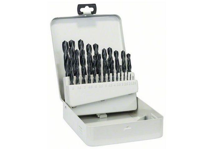 25-dílná sada vrtáků do kovu Bosch HSS-R, DIN 338, v kovové kazetě, 1 až 13 mm (2 607 018 725) Bosch - příslušenství