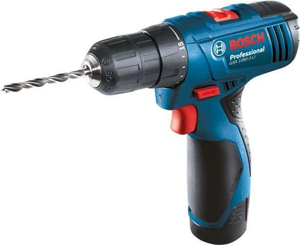 Aku vrtačka bez příklepu Bosch GSR 1080-2-LI Professional - 2x 1.5Ah, 06019E2000
