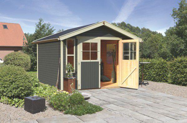 Dřevěný zahradní domek Karibu Auburg 7 (zahradní/nářaďový domek)