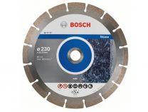 Diamantové dělicí kotouče Bosch Standard for Stone na žulu, kámen a tvrdé materiály, 230x22.23x2.3/10mm, 10 ks