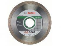 Diamantové dělicí kotouče Bosch Standard for Ceramic na obklady, pr. 115x22.23x1.6/7mm, 10 ks