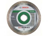 Diamantové dělicí kotouče Bosch Standard for Ceramic na obklady, pr. 125x22.23x1.6/7mm, 10 ks