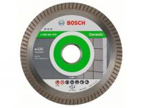 Diamantový kotouč Bosch Best for Ceramic Extraclean Turbo na tvrdé mat., pr. 125x22.23x1.4/7mm