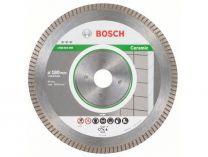 Diamantový kotouč Bosch Best for Ceramic Extraclean Turbo na tvrdé materiály, pr. 180x22.23x1.6/7mm
