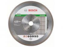 Diamantový kotouč Bosch Best for Ceramic Extraclean Turbo na tvrdé materiály, pr. 230x22.23x1.8/7mm